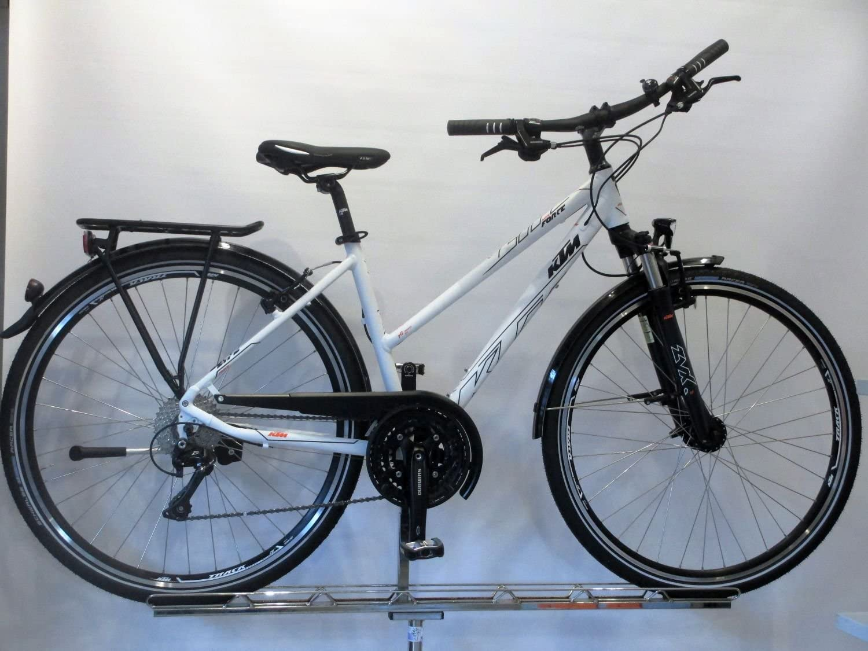 KTM Life Force – Bicicleta de trekking 2017, Blanco Mate Negro ...