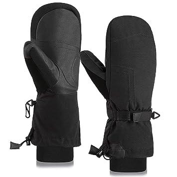 c1a5bc4e10ac7 Fazitrip Moufles de Ski | Gants de Ski/Snowboard pour Femmes - Gants ...