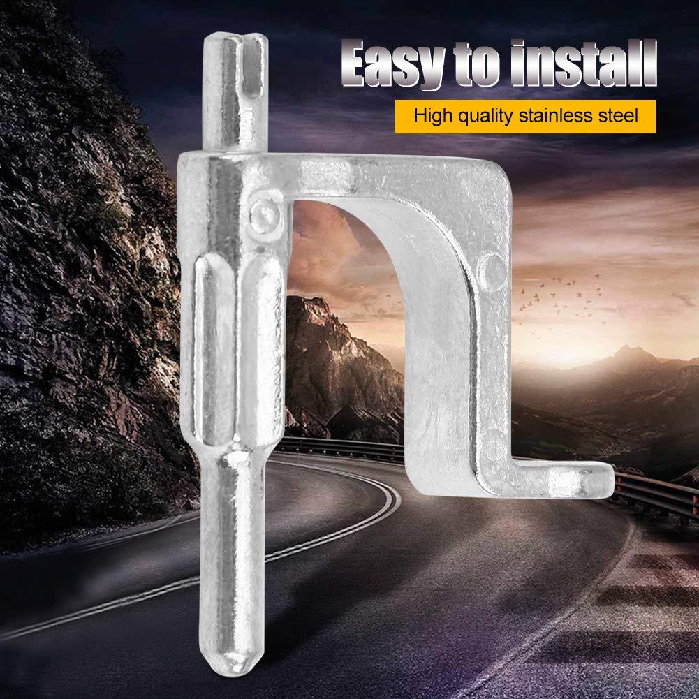 Qiilu Car Interior Door Handle,Inner Door Handle Rod Bracket 13297179 for Corsa D 2006-2015