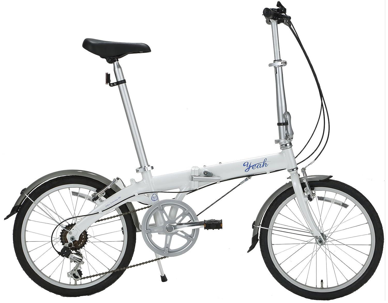 yeah(ヤー) スティンガー 20インチ 6段変速 DAHONライセンス 折りたたみ自転車 R141 スノーホワイト B072JYSPZP