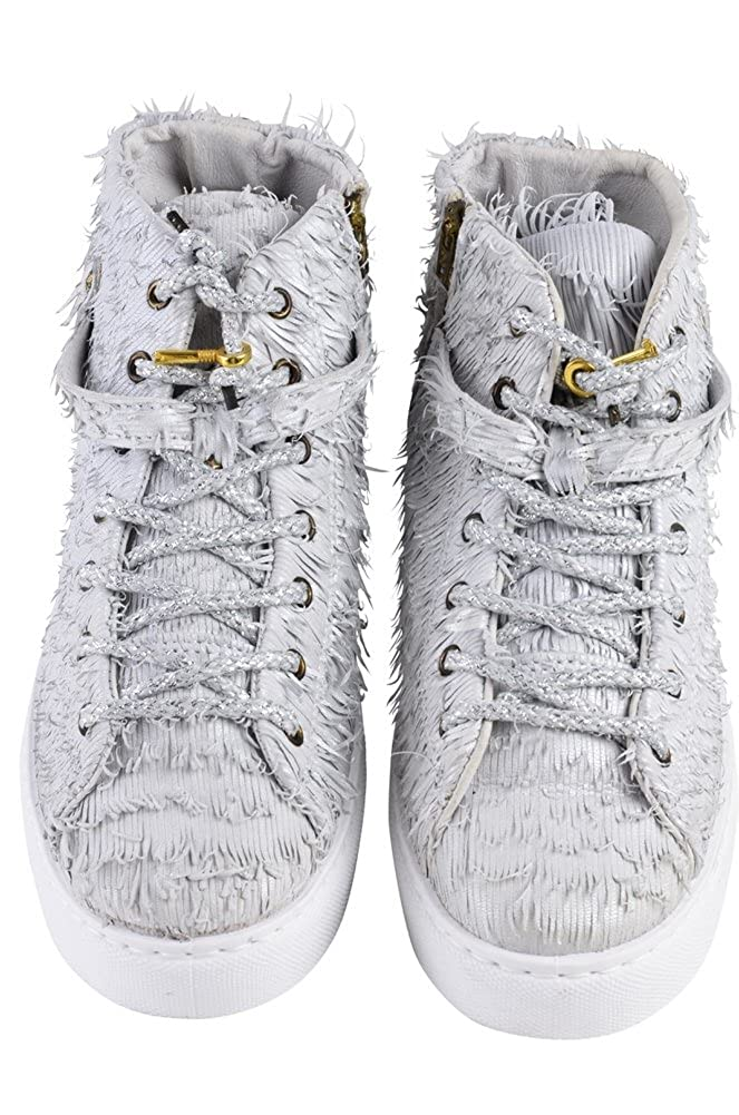 2Star Gold Schuhe Schuhe Schuhe Damen Silber Leder Sneaker 37 - 8a6bc6