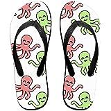 17d45bb5a Tailing Flip Flops Octopus Unisex Trendy Print Slippers Beach Sandal