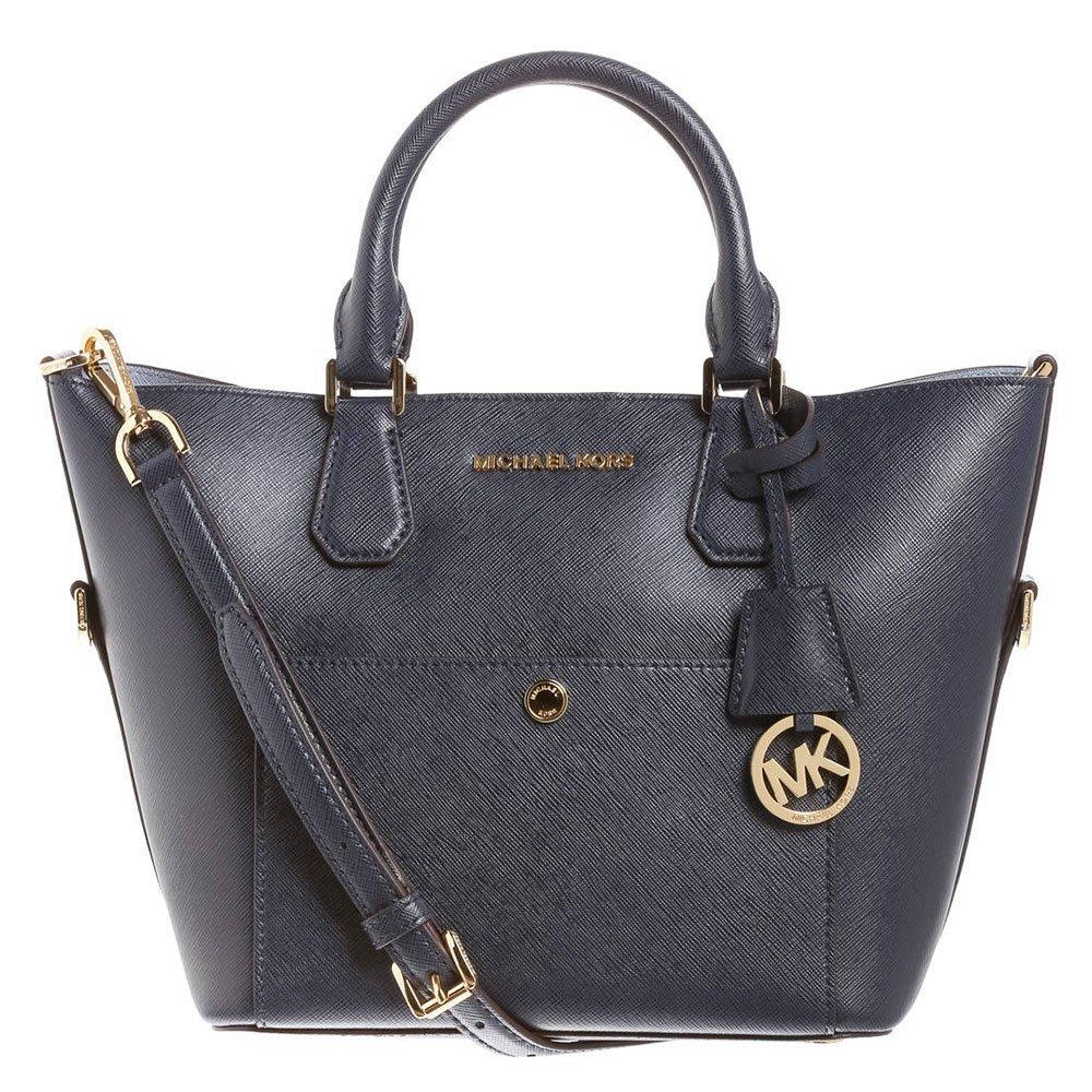 MICHAEL Michael Kors Greenwich Bolso de Mano one size Azul: Amazon.es: Zapatos y complementos