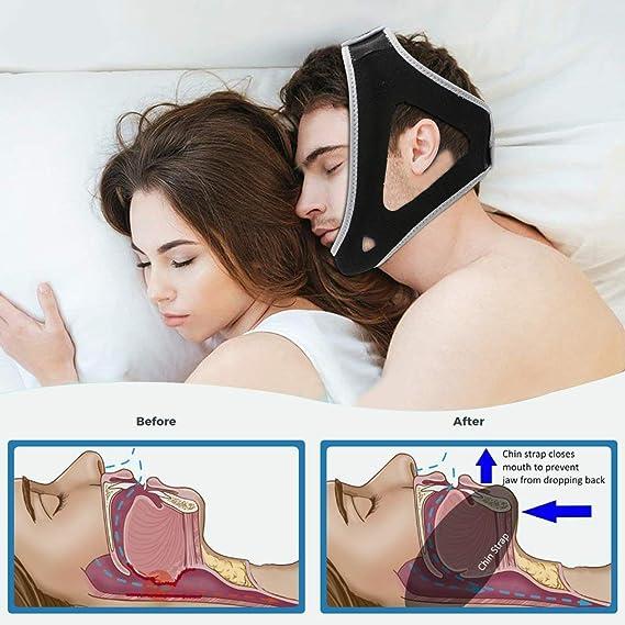 Premium Anti russare Solution, confortevole, leggero e traspirante Dispositivi russare, Anti-odore russare Adatto per uomini e donne Pour HUOU ...