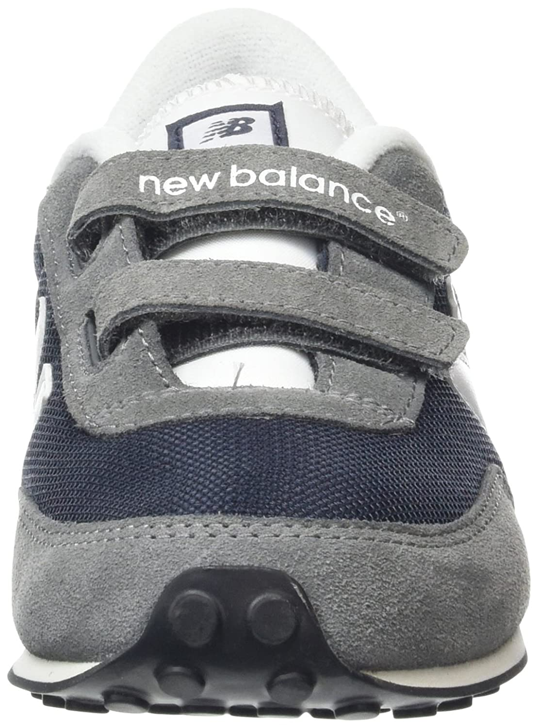 reputable site bae5a 63336 New Balance Unisex Kids Hi-Top Sneakers, Multicolor (Navy 410), 5 UK 38 EU   Amazon.co.uk  Shoes   Bags