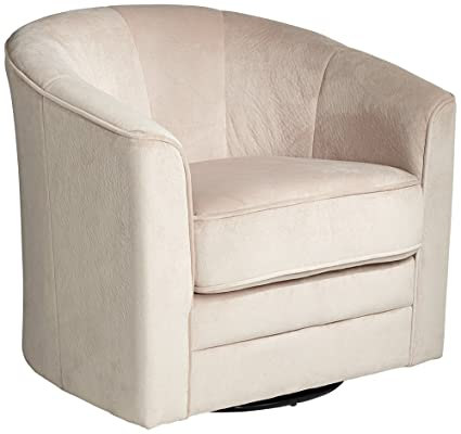 Delicieux Keller Argos Muse Off White Swivel Chair