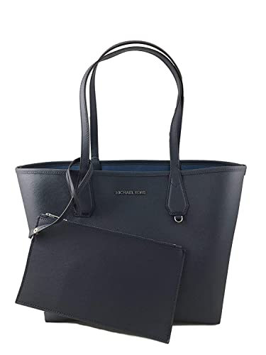 ecfa0ee2732ed2 Amazon.com: Michael Kors Candy LG Reversible PVC Tote Bag Black/Pearl Grey:  Shoes