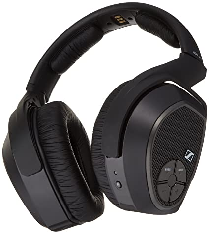 a74768a2579 Amazon.com: Sennheiser HDR 175 Accessory RF Wireless Headphone for RS 175  System: Home Audio & Theater