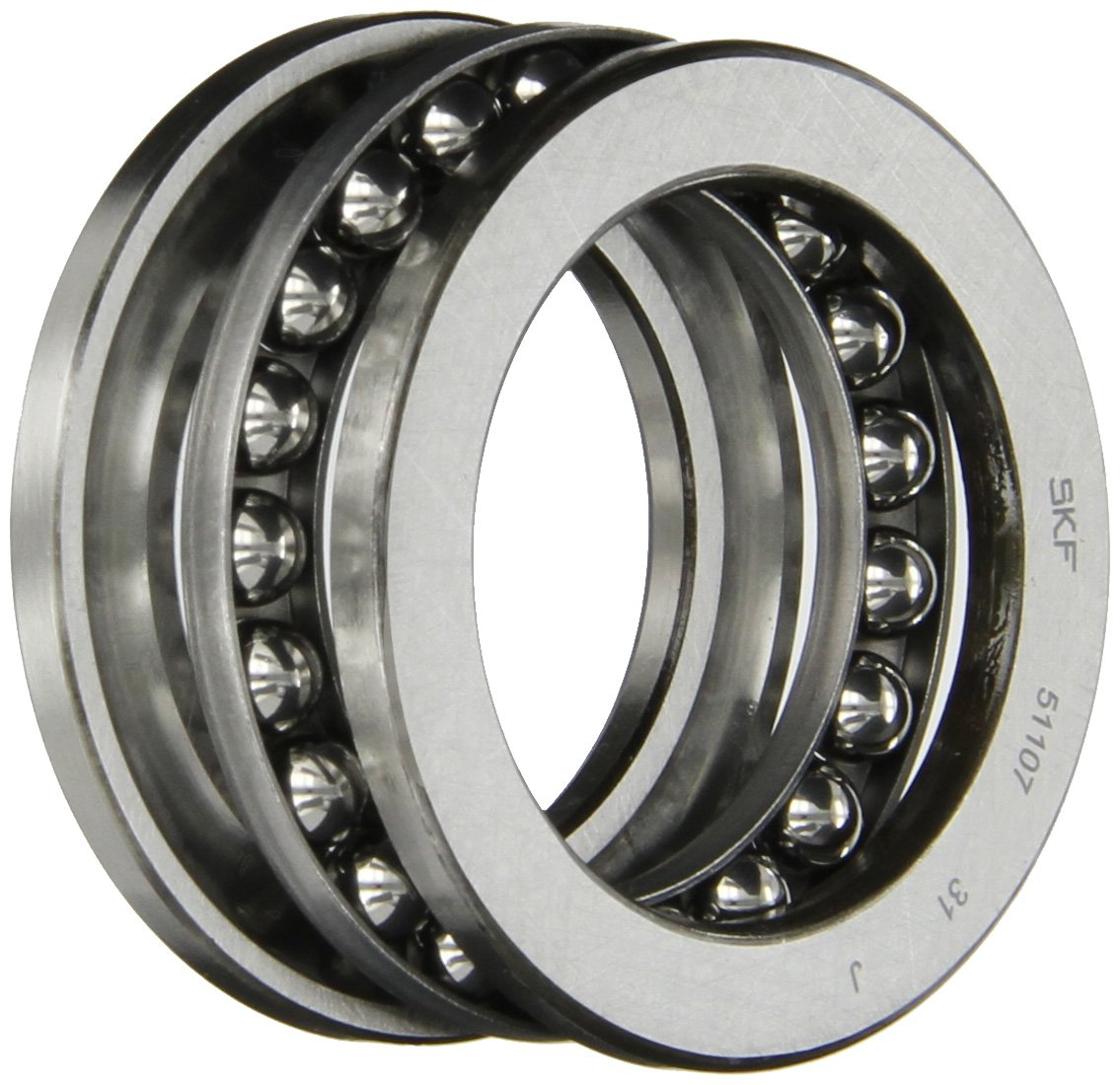 x 12mm OD 35mm x 52mm ID Thickness 51107 Axial Ball Thrust Bearing