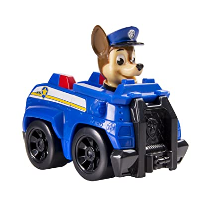 Amazon Com Nickelodeon Paw Patrol Racers Chase Toys Games