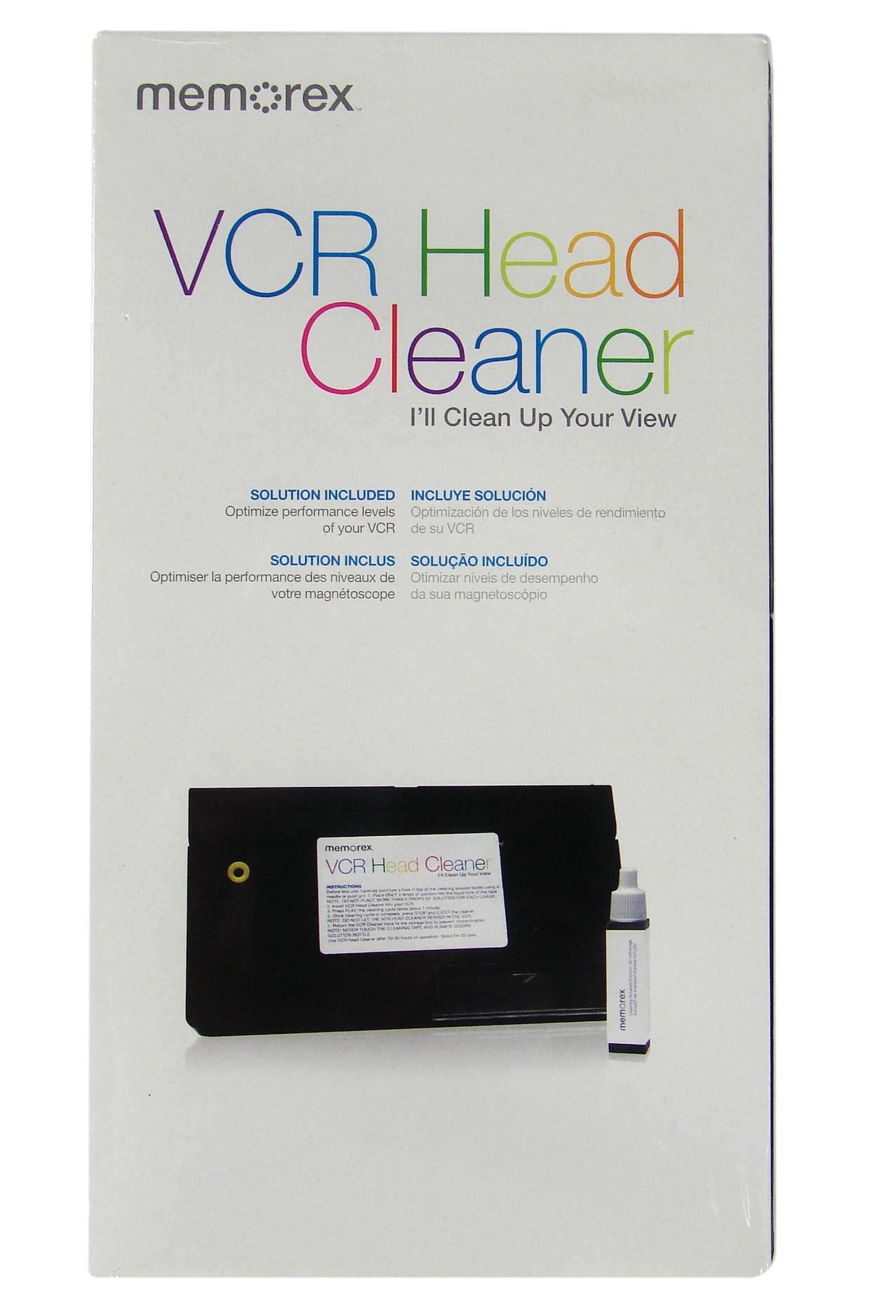Memorex VCR Head Cleaner (32028035) (Discontinued by Manufacturer)