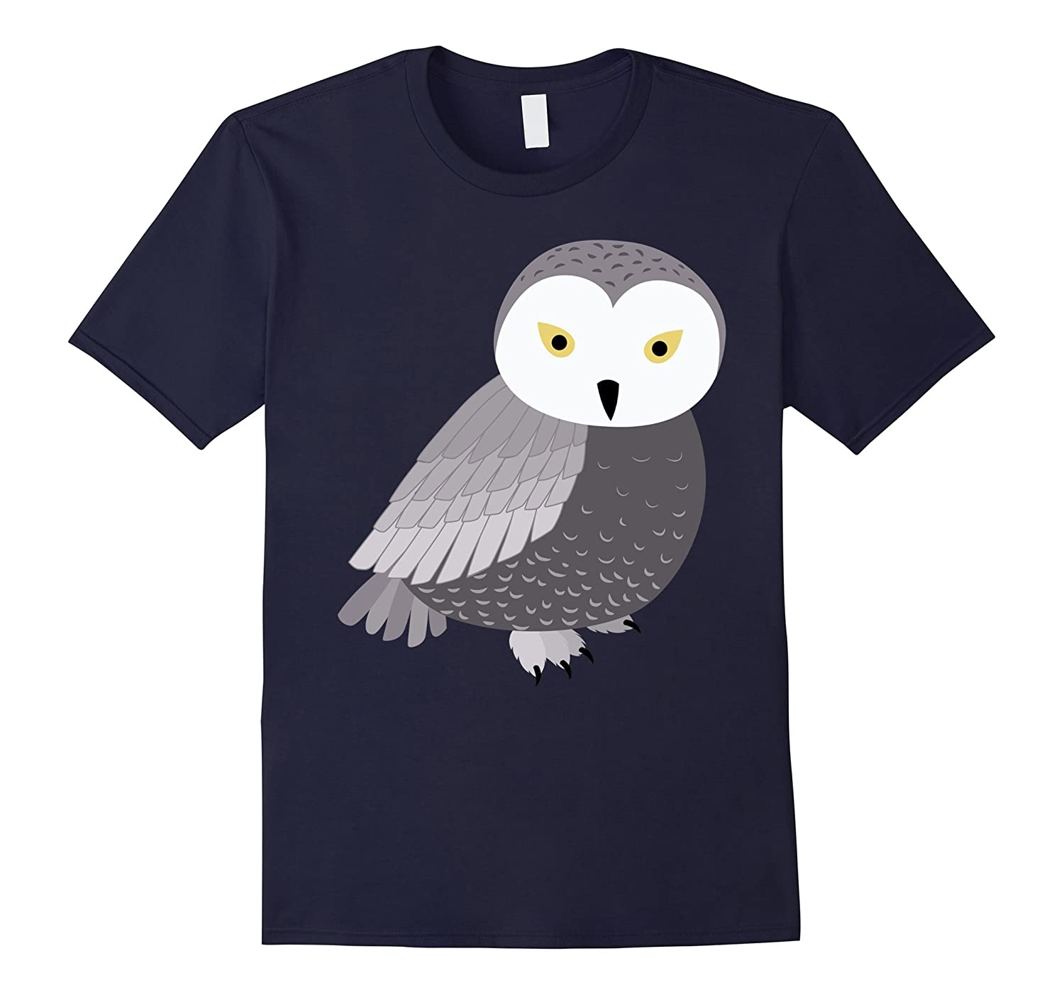 Cute Hoot Owl Art | Nature & Animal Lover T-Shirt & Gift-AZP