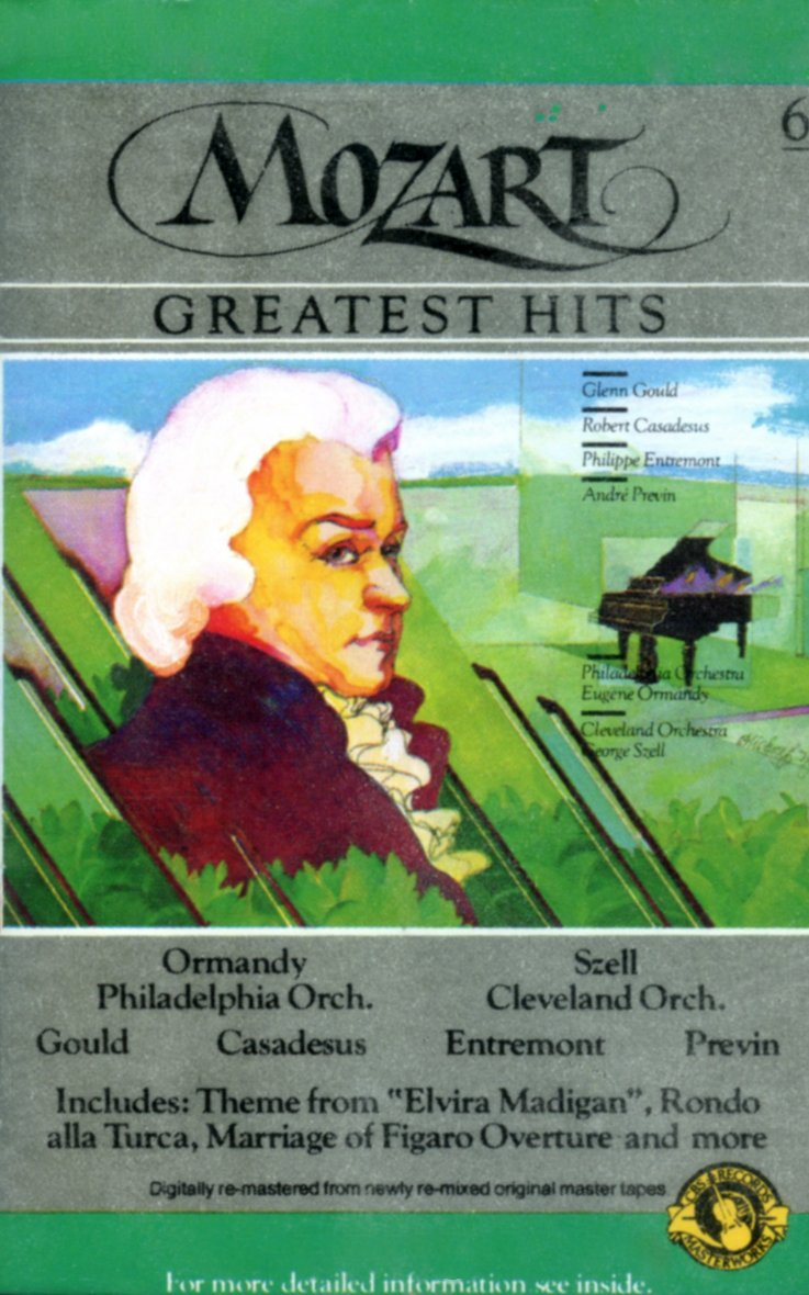 Mozarts Greatest Hits