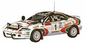 Hasegawa 020309 1/24 Toyota Celica Turbo 4 WD 1993 safary Rally Winner plástico Maqueta