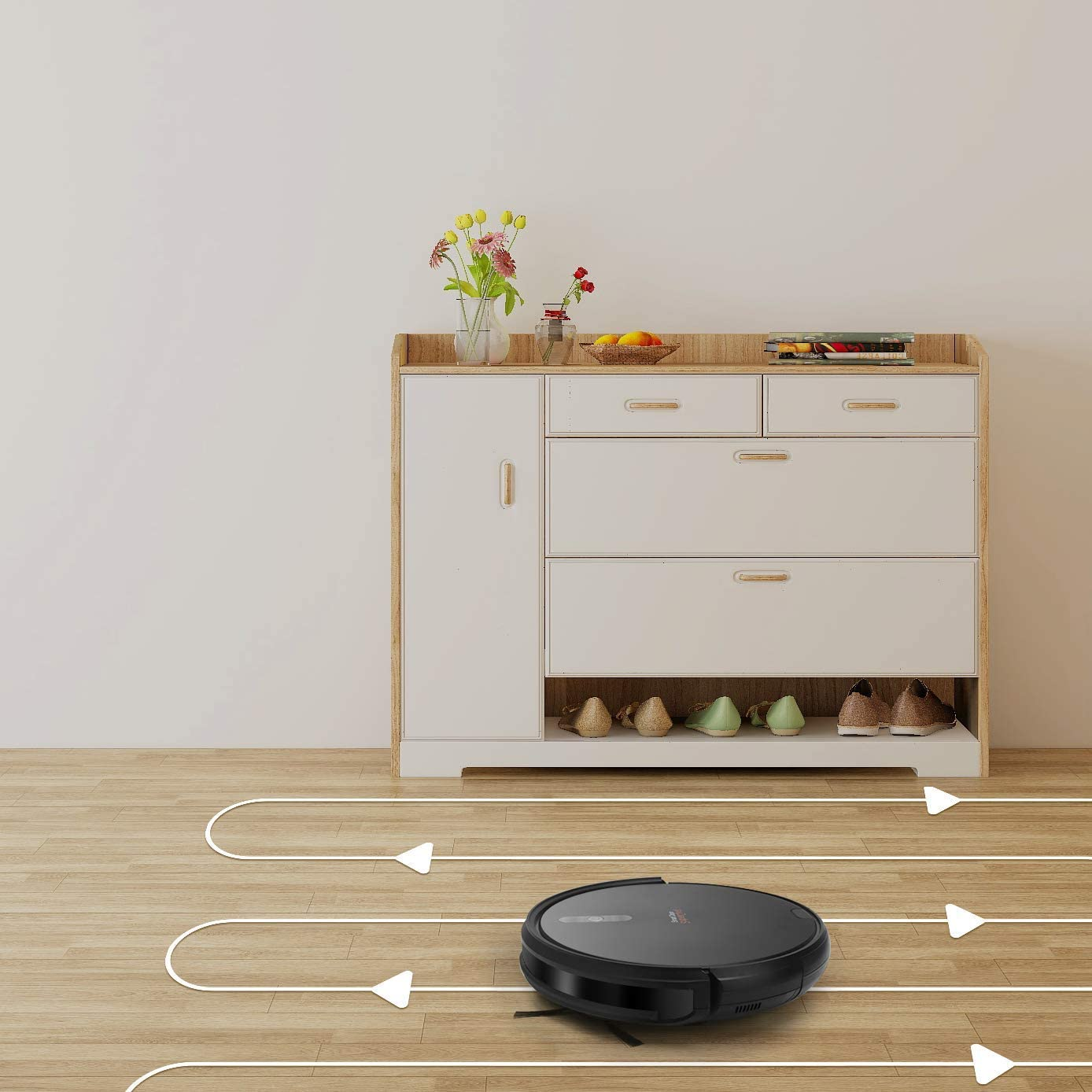 SuperChef Robot Aspirador SF423 SmartClean WiFi, App, Compatible ...