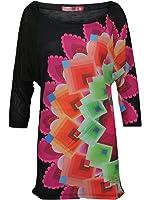 DESIGUAL Femme Designer Pull - TAGLIO -