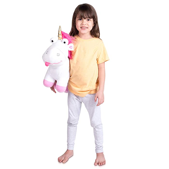 Franco Kids Bedding Super Soft Plush Cuddle Pillow, Fluffy Unicorn