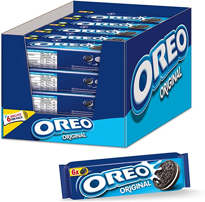 Oreo Clásico Snack pack 66 g (pack de 20): Amazon.es: Alimentación ...