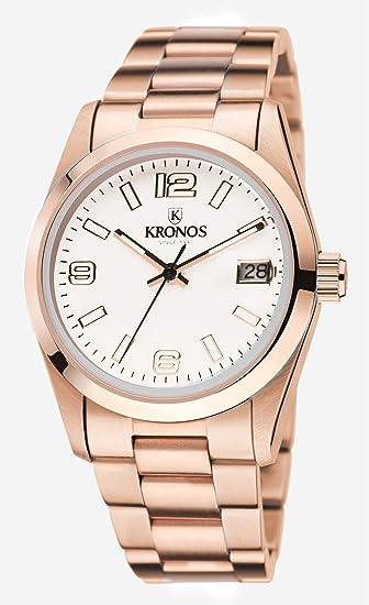 9 De Elegance Rose 968 CuarzoBrazalete 34 Unisex Reloj Kronos shQtdxCr