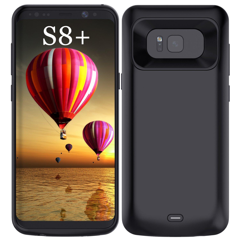 Funda Con Bateria de 5500mah para Samsung Galaxy S8 Plus RUXELY [71G52PJ8]