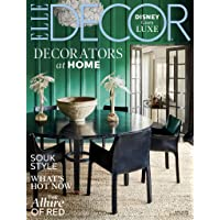 1-Year (10 Issues) of Elle Decor Magazine Subscription