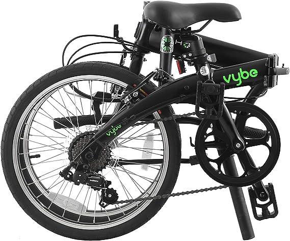 Dahon VYBE D7 Bicicleta Plegable, Deportes y Aire Libre, Negra ...