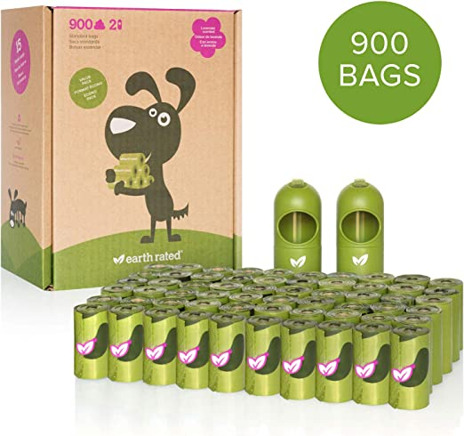 Earth Rated Tierra Nominal dispensador con biodegradables Bolsas ...