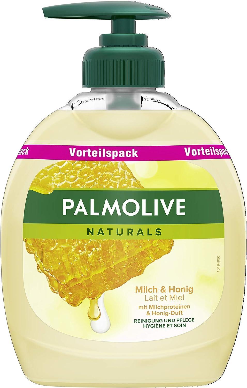 Palm olivo Naturals Leche y miel – Jabón líquido ventaja Pack, 6 pack (6 x 300 ml): Amazon.es: Belleza
