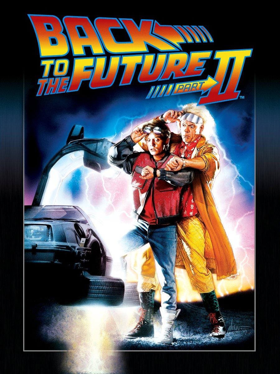 1944707d6 Amazon.com  Back to the Future Part II  Michael J. Fox