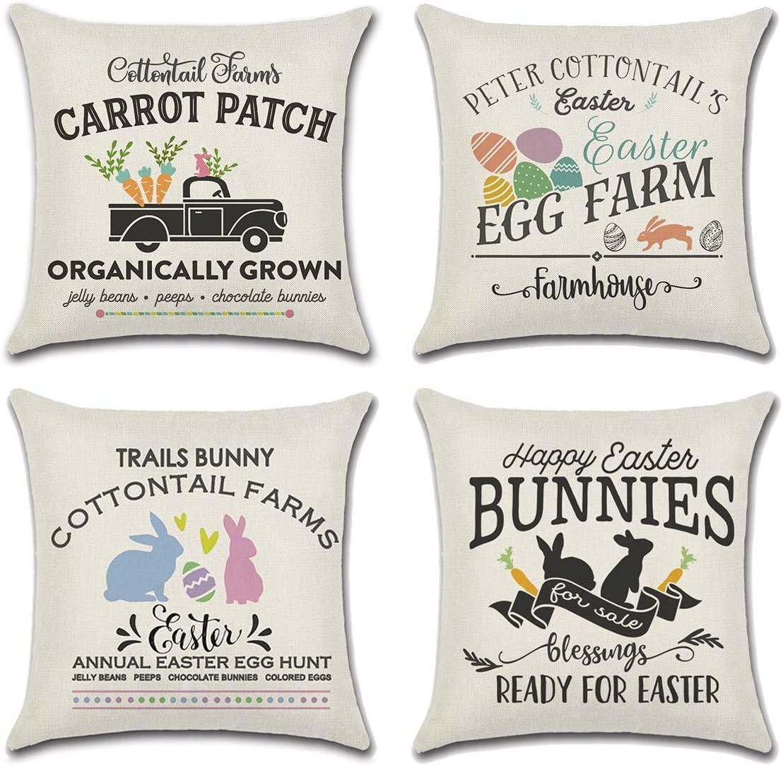 Easter throw Pillow covers