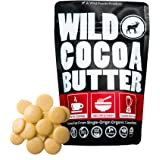Wild Foods Cocoa Butter Wafers - Unrefined, Food Grade, Plant-Based, Paleo, Vegan Body Butter – Raw Organic Cocoa Butter Grea