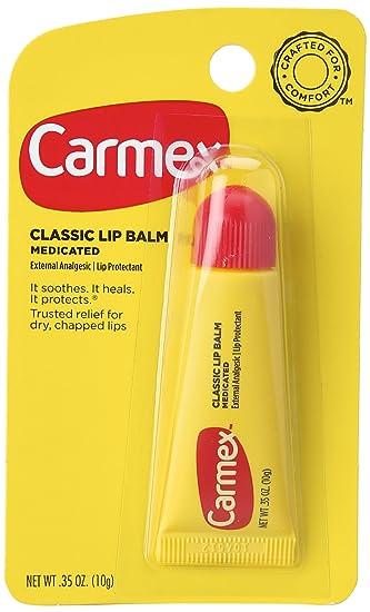 Carmex Moisturizing Lip Balm Original 0.35 oz (Pack of 2) aquafina lip balm - 2 tubes