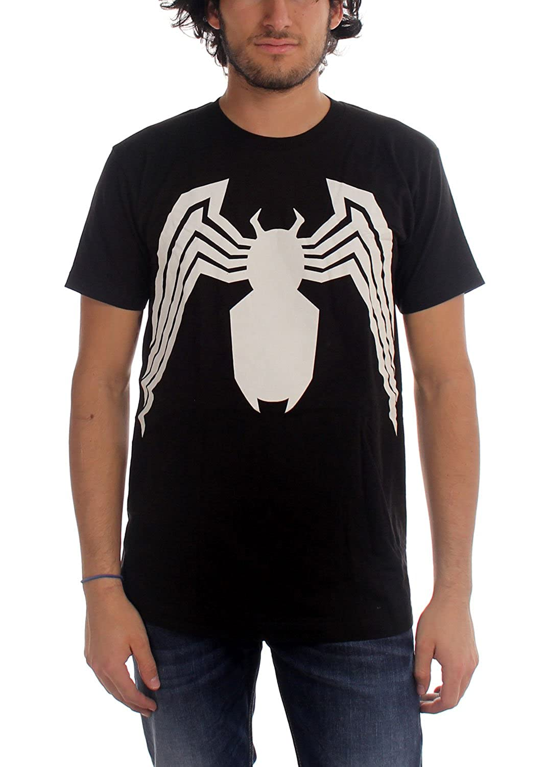 Marvel Comics - Mens Venom Venom Suit Fitted T-Shirt In Black