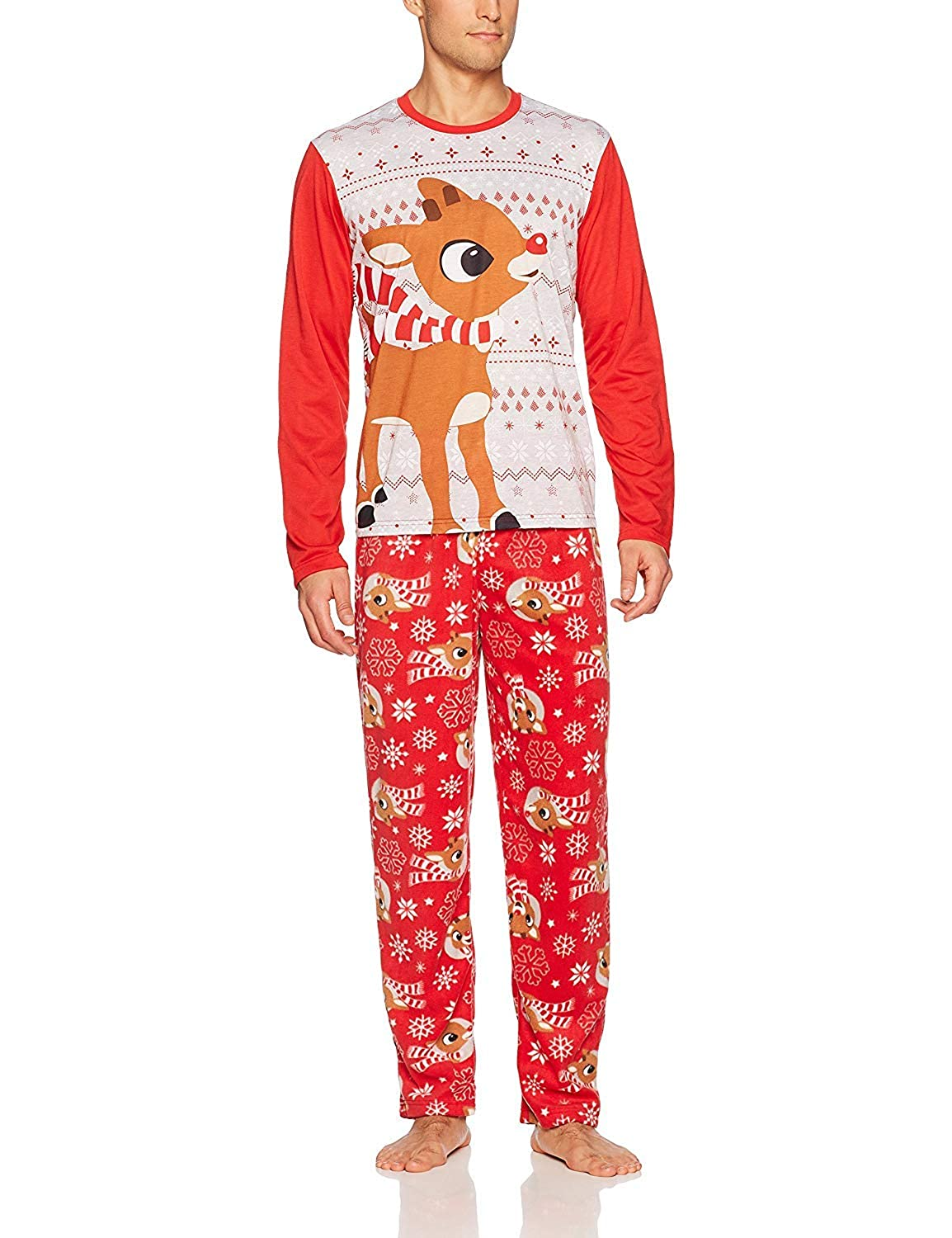 Rudolph the Red Nosed Reindeer Christmas Holiday Family Sleepwear Pajamas (Adult/Kid/Toddler/Baby) manufacturer