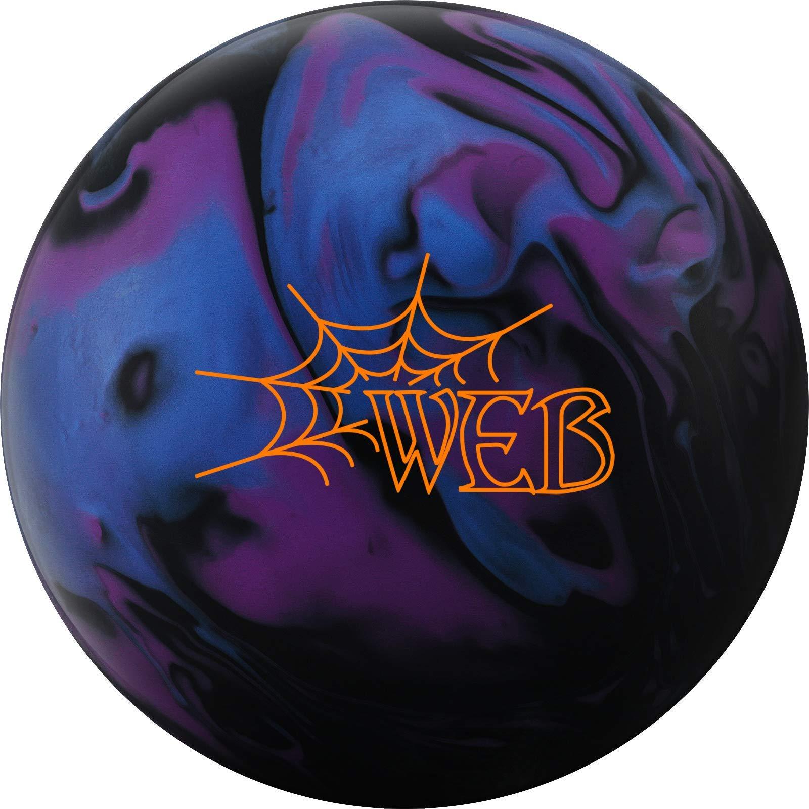 Hammer 029744028057 Web Bowling Ball, Blue/Purple/Black, 12