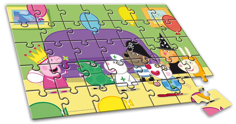 Liscianigiochi 43231 Puzzle A Colorier Motif De Peppa Pig