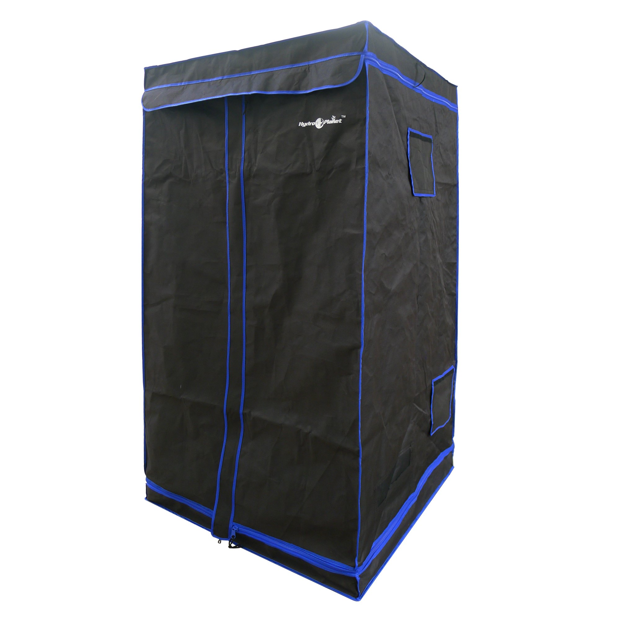 Hydroplanet 36x36x72 Mylar Hydroponic 600D 3'x3' Extra-Thick Canvas Grow Tent for Indoor Plant Growing (36x36x72) by Hydroplanet (Image #2)