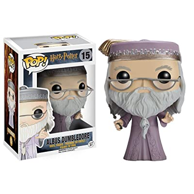 Funko POP Movies: Harry Potter Action Figure - Dumbledore: Toys & Games