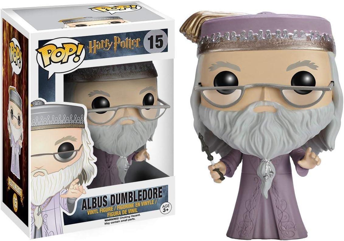 Funko - POP! Vinilo Colección Harry Potter - Figura Albus Dumbledore (5891)
