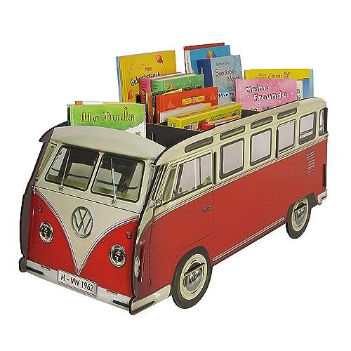 Werkhaus Design – Bücherbus VW Bulli |Bücherregal Kinder