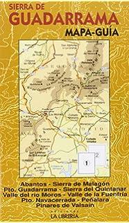 Sierra Norte de Madrid Mapa excursionista y turstico Amazones