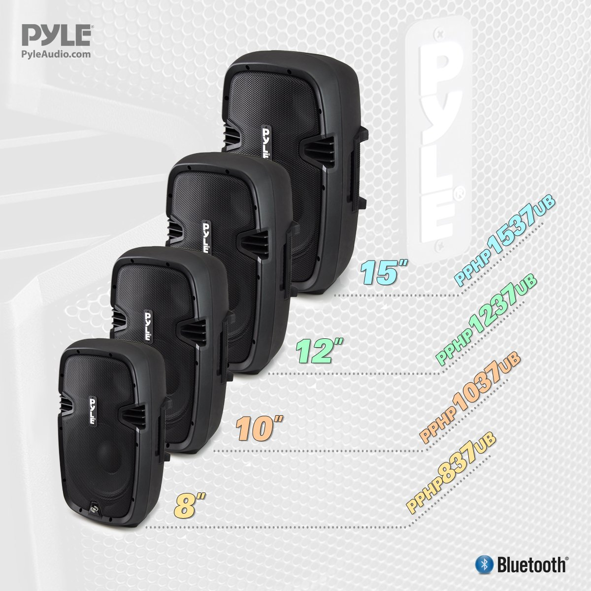 Pyle Powered Active Bluetooth PA