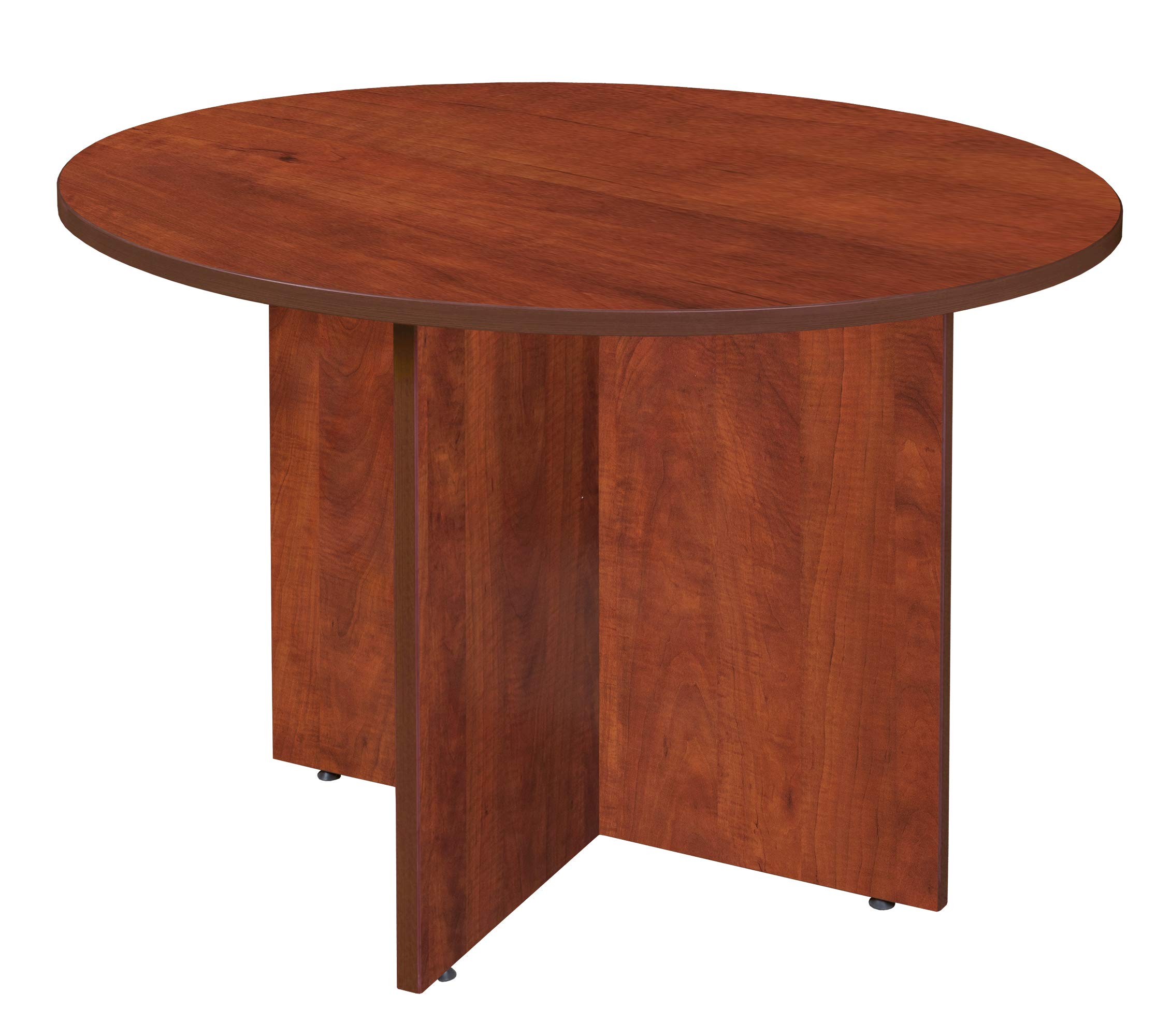 Regency A-LCTR42SG Legacy Round Conference Table, Sangria, Sangria
