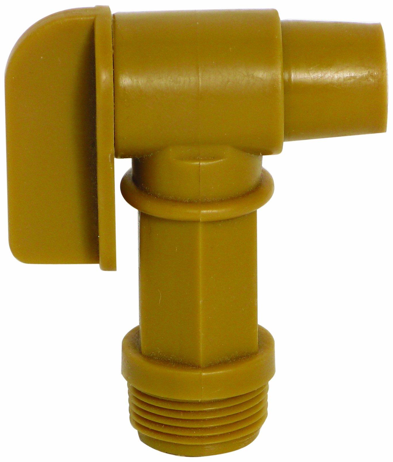 Wesco 272177 Polyethylene Drum Faucet, 0.75'' Size