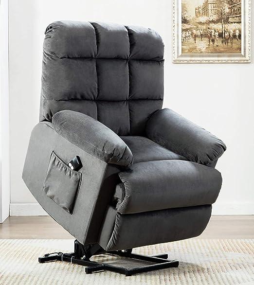 Amazon.com: ANJ Silla reclinable para ancianos con ...