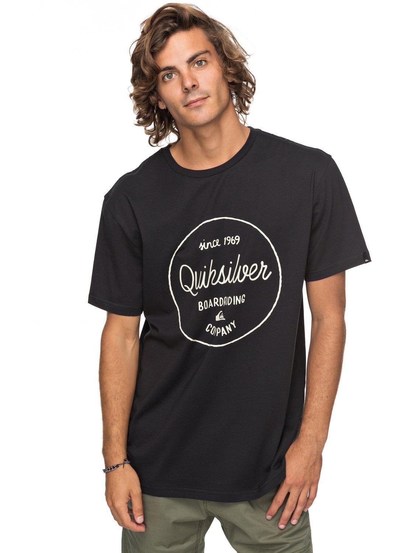 Quiksilver Eqyzt04783 Classic Morning Slides Camiseta, Hombre: Amazon.es: Deportes y aire libre