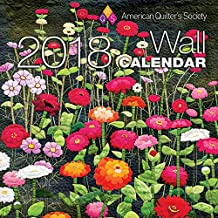 American Quilter's Society 2018 Wall Calendar