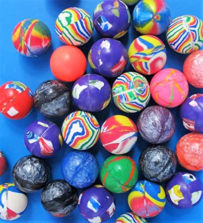 Bouncy jet balls party bag fillers