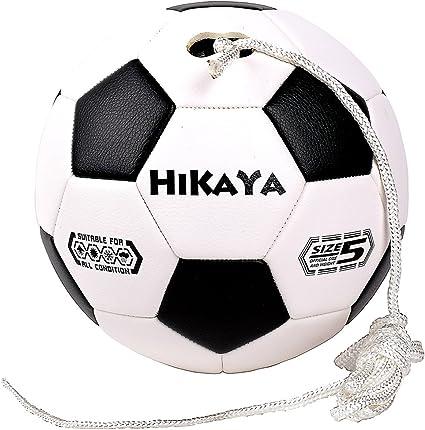 HIKAYA Tether Barra de balón de fútbol con conexión, tamaño 5, 8 ...