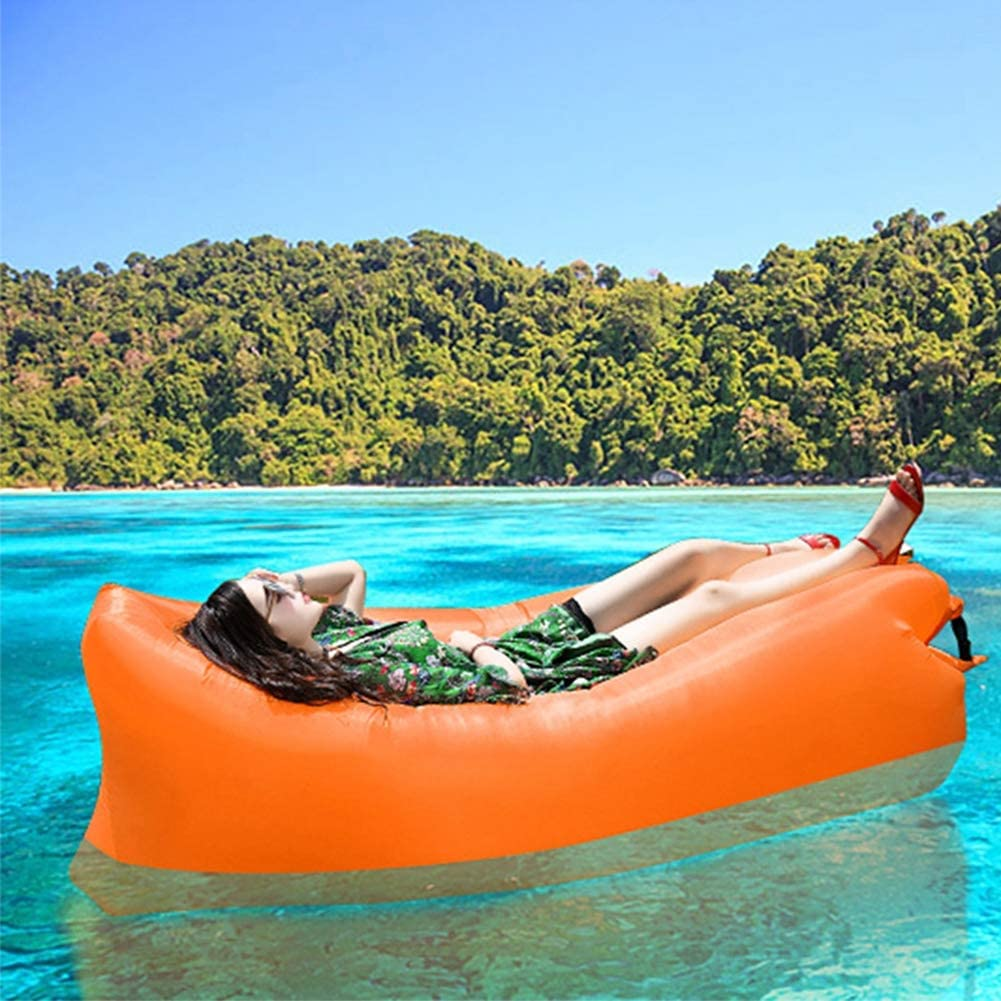 Sof/á Cuadrado Lazy Saco de Dormir Inflable R/ápido Sof/á Perezoso Camping Lounger Air Sof/á Cama de Playa Cama de Aire Sal/ón Sof/á Inflable